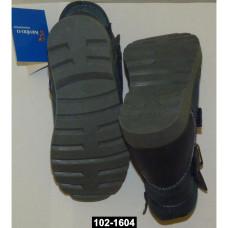 Демисезонные ботинки для мальчика, 29 размер, (18,3см), молния, липучка, 102-1604